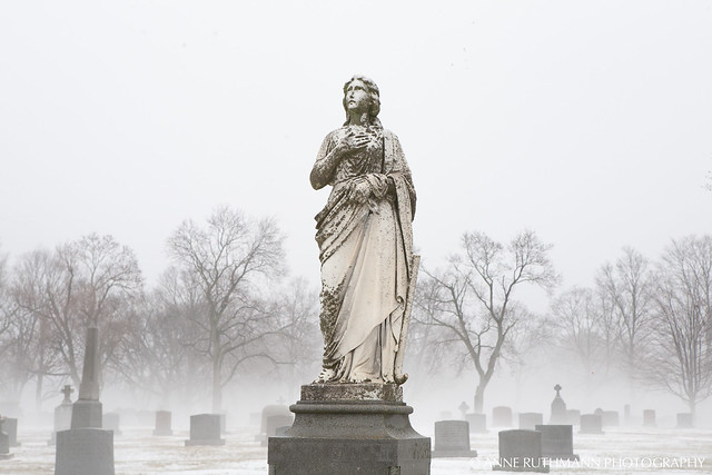 Angel Among the Fog