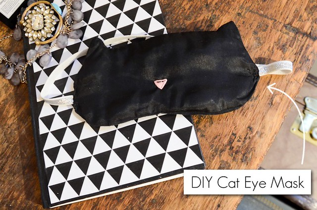 DIY Cat Eye Mask