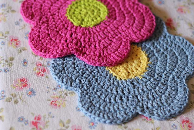 Flower Dishcloths
