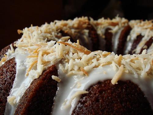Coconut Banana Bundt Cake