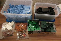 dirks LEGO globe - building up 01