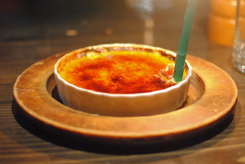 Orange and Vanilla Bean Creme Brulee