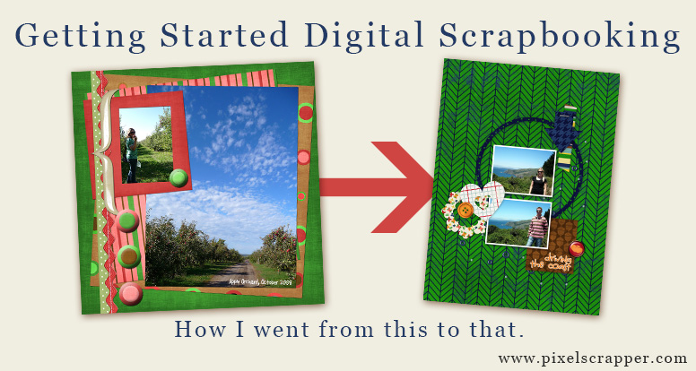Getting Started Digital Scrapbooking