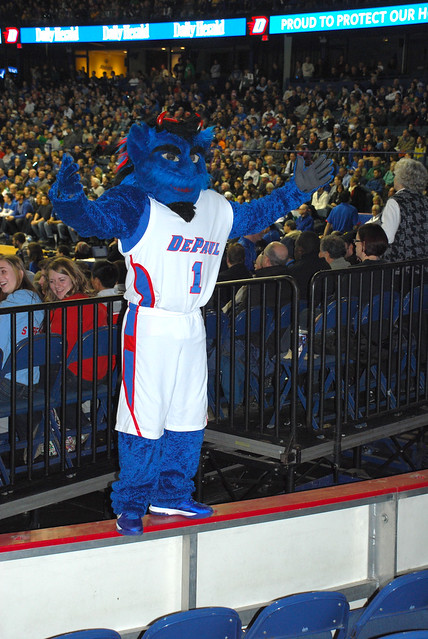 DePaul Blue Demon Day 2013