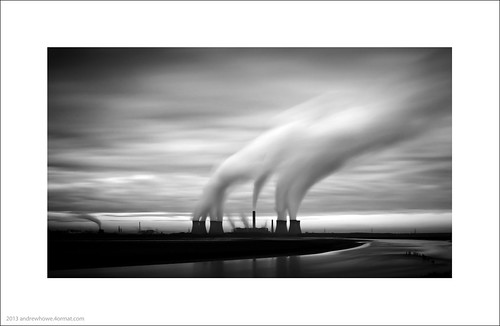 Fiddlers Ferry Power Station at Dawn