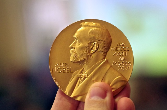Photo:Nobel Prize Medal in Chemistry By:AlphaTangoBravo / Adam Baker