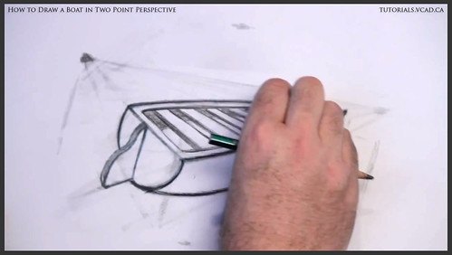 learn how to draw a boat in two point perspective 012