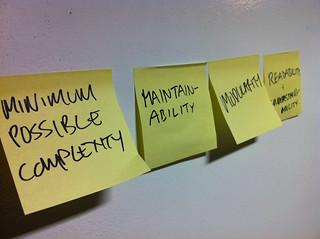 Front-end development principles
