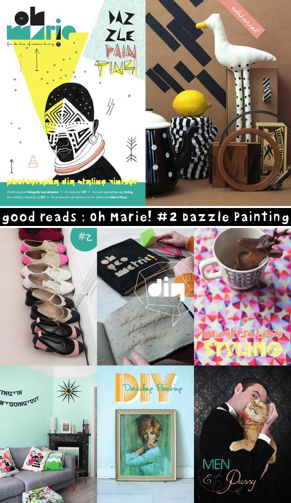 good reads : Oh Marie! #2 Dazzle Painting | Emma Lamb