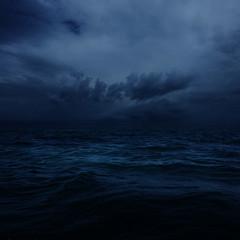 [フリー画像素材] 自然風景, 海, 暗雲 ID:201302191600