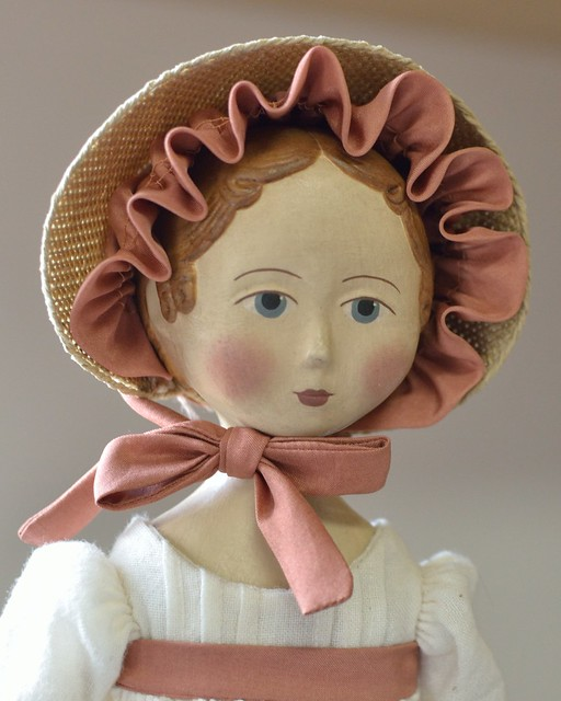 GW Jane Austen with bonnet