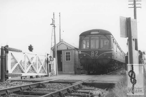 Bradpole level Crossing 1963