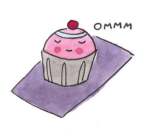 Cake yoga