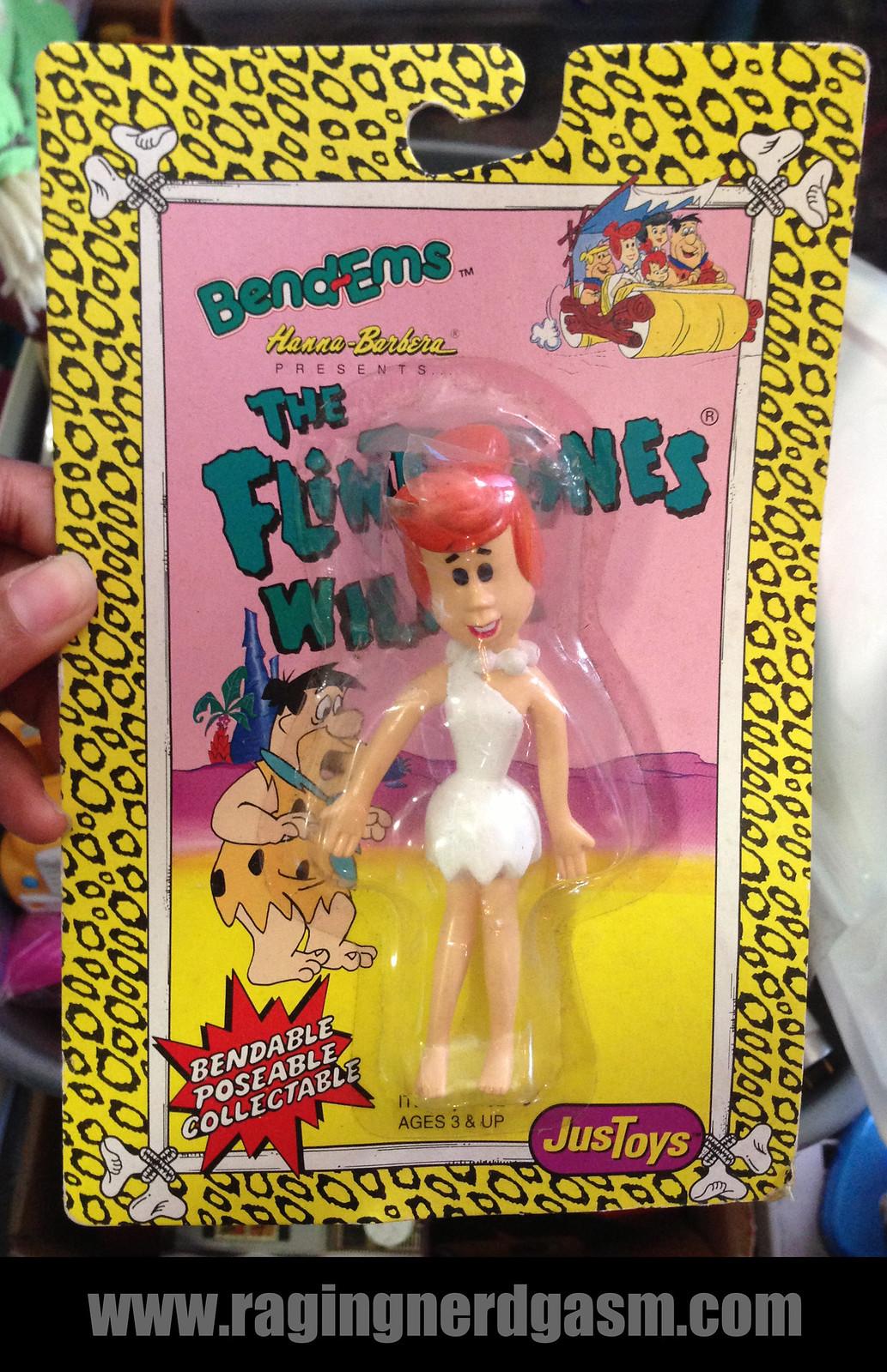 Bend - Ems Hanna BarberaThe Flinstones - Wilmaby JusToys