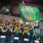 13-015 -- The Titan Band rocks the Shirk Center.
