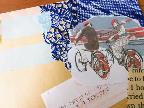 Envelope collage