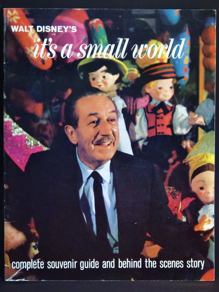 Disneyland 1964 It's a Small World Souvenir Book