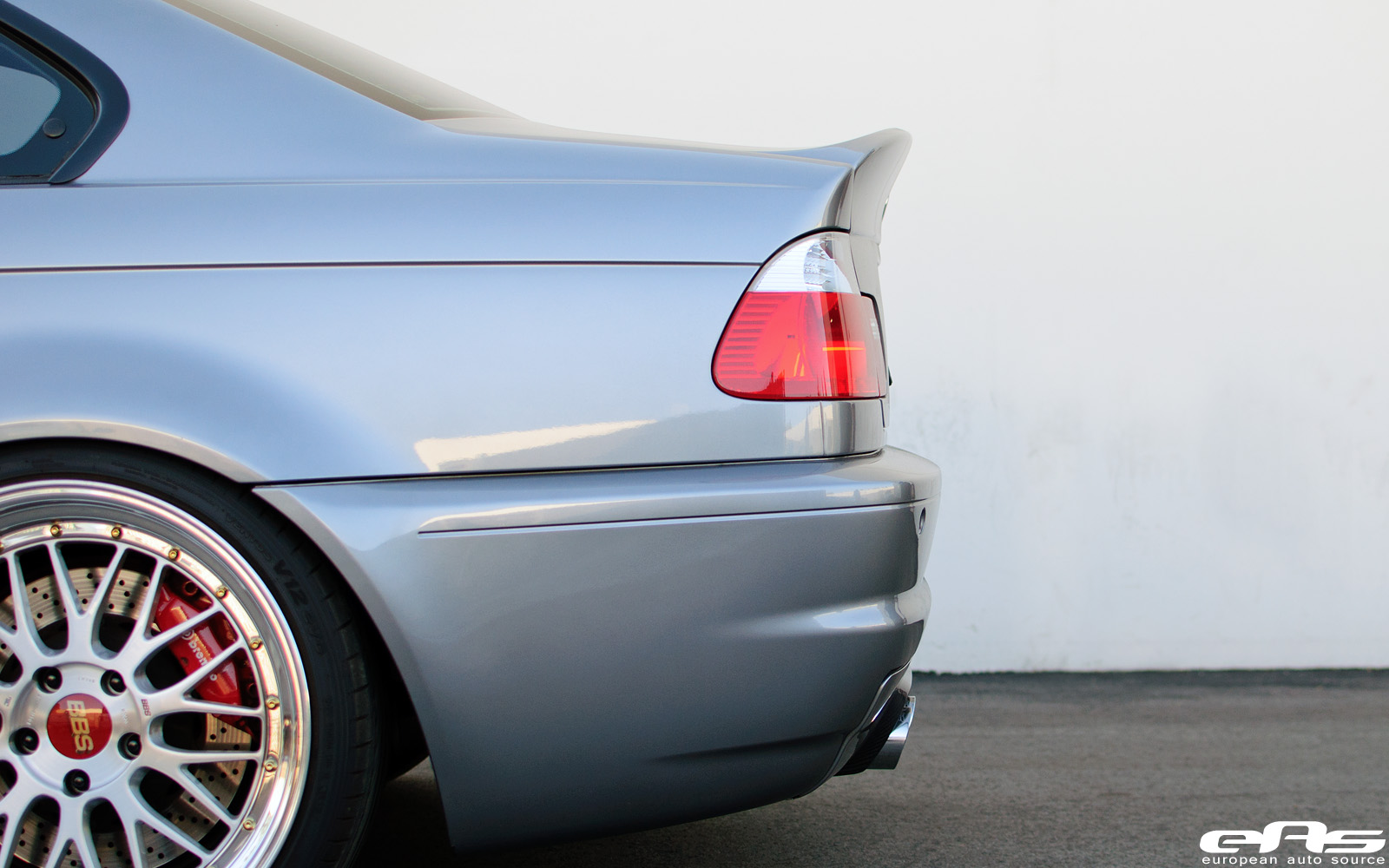 Silver Gray E46 M3 With Bbs Lms And Vorsteiner V Csl