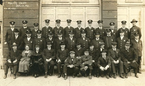 1920 Joplin Police Department