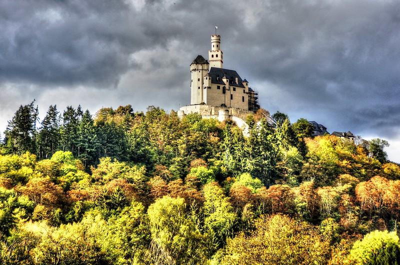 UNESCO Welterbe 'Mittelrheintal' - Marksburg, Braubach