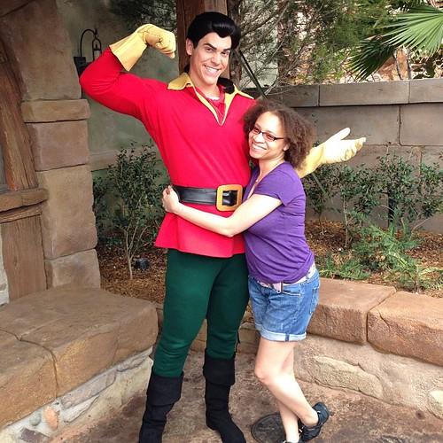 Gaston and me!!