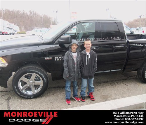Congratulations to Kevin Carper on the 2013 Dodge Ram by Monroeville Dodge