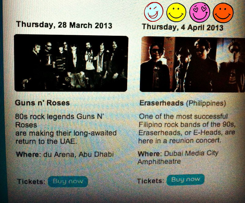 Eraserheads in UAE, finally