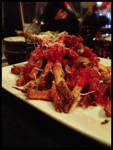 Pizza fries? At Rosso.