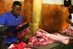 meat, food, butcher,