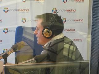 Hablando en Onda Madrid sobre las Tertulias viajeras