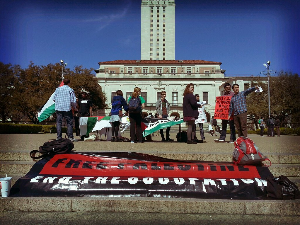 UT Socialists & #BDS Movement on the South Mall
