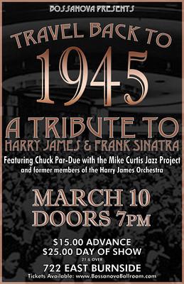 Frank Sinatra Tribute @ Bossanova Ballroom