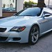 2006 BMW M6 V10 Silver on Black and Cream White Leather in Beverly Hills @porscheconnection P3912A 791