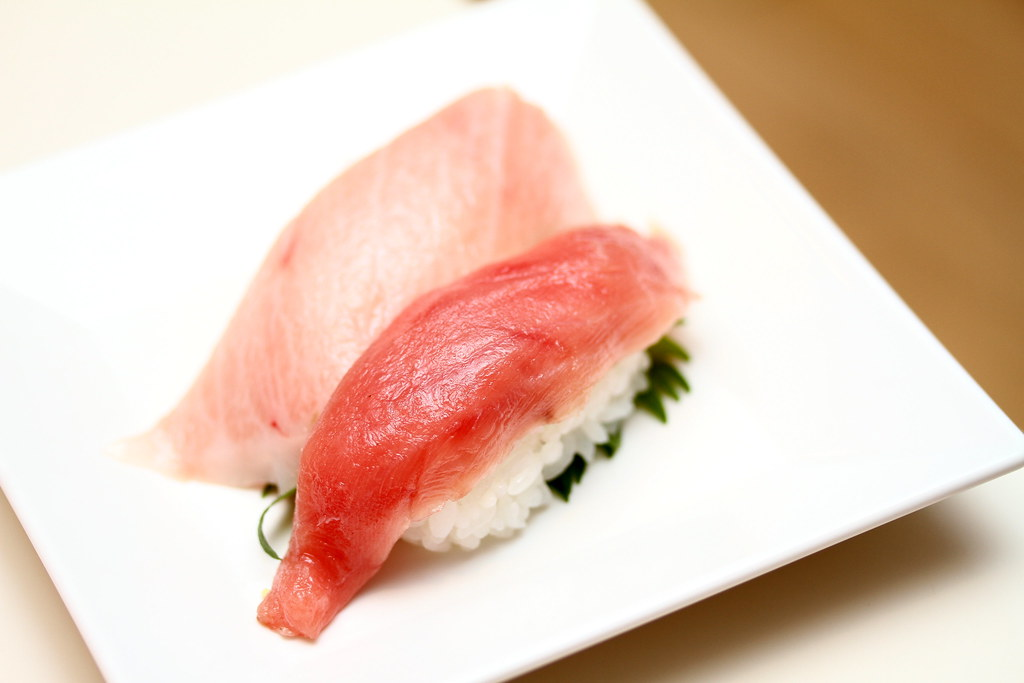Genki Sushi's Maguro