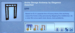 Archa Omega Archway by Elegance Asserted