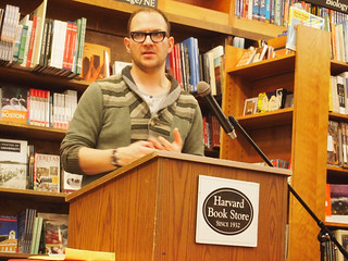 Cory Doctorow, Harvard Book Store
