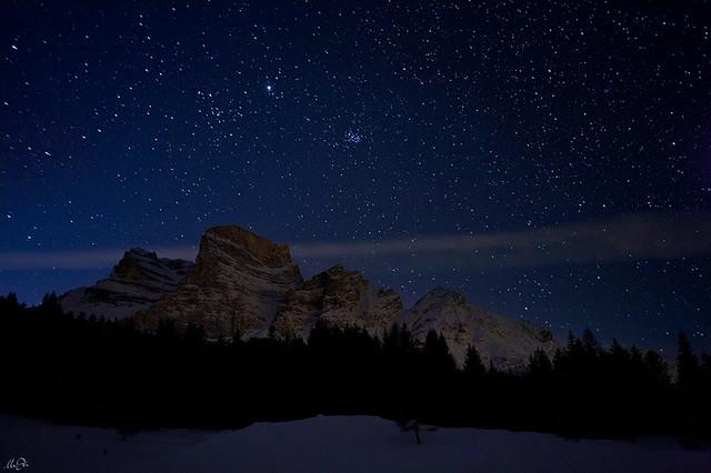 Notte stellata sopra il pelmo flickr photo sharing for La notte stellata