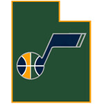Utah Jazz State Outline