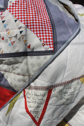 Bunting Flag Wedding Quilt