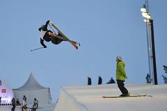 boardsport(0.0), snowboarding(0.0), snowboard(0.0), slalom skiing(0.0), winter sport(1.0), freestyle skiing(1.0), ski cross(1.0), sports(1.0), sports equipment(1.0), extreme sport(1.0), downhill(1.0), nordic skiing(1.0),