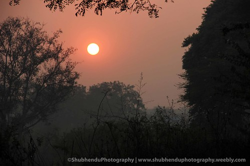 just before sun set.... by ShubhenduPhotography