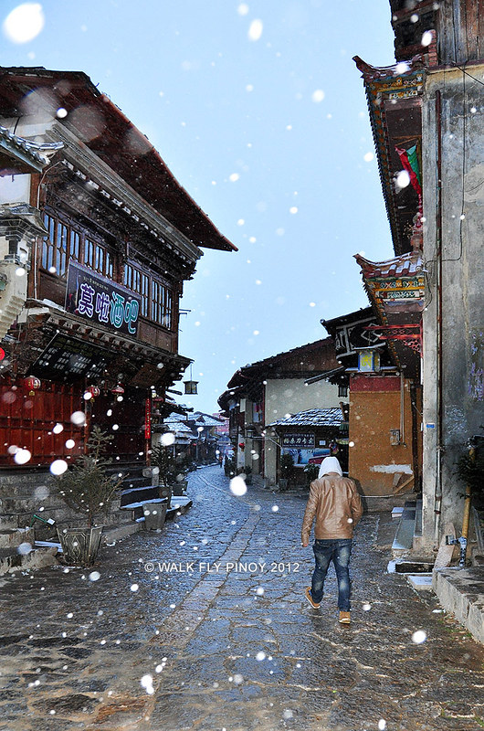 Zhongdian Old Town, Yunnan, China