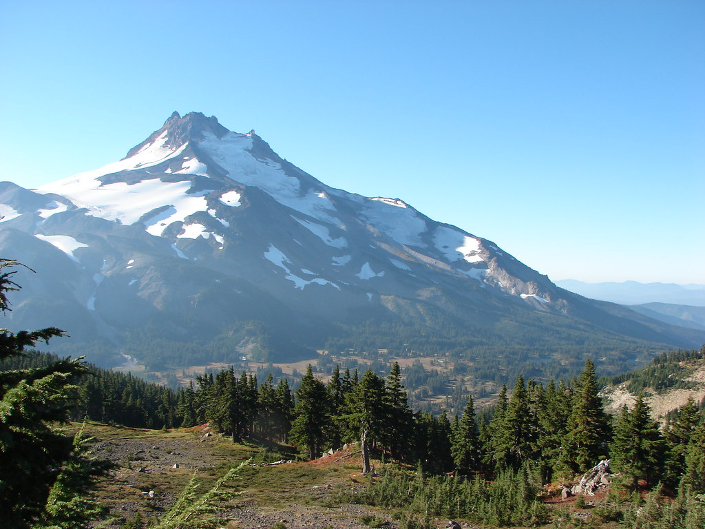 Mt. Jefferson and Jefferson Park