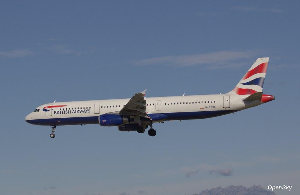 British Airways Airbus A321-231 G-EUXK (cn 3235)