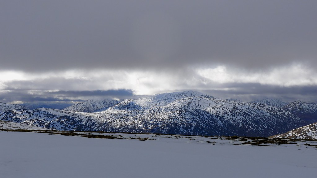 A Round of Loch an Daimh — The Mountain's Silhouette