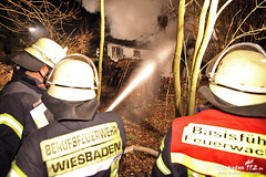 Gebäudebrand Auringen 11.03.13