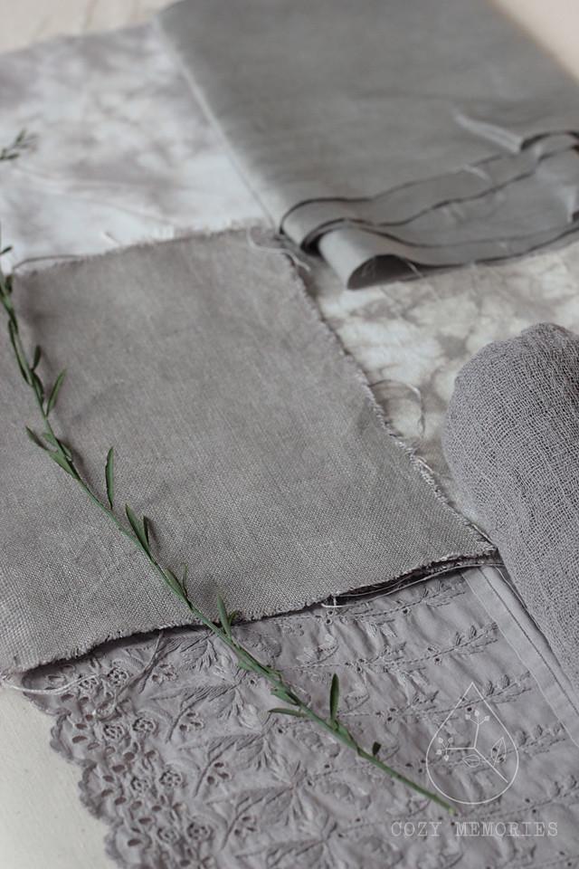osyris alba (iron modified) dyeing