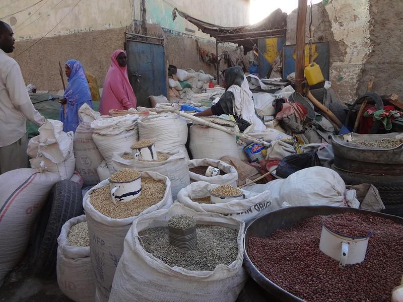 Mercado em Hargeisa, Somalilândia