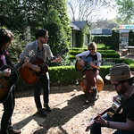 Thu, 14/03/2013 - 11:39am - Wild Feathers interview and performance for WFUV at the Hotel San Jose, SXSW 2013. Hosted by Russ Borris. Photo by Laura Fedele
