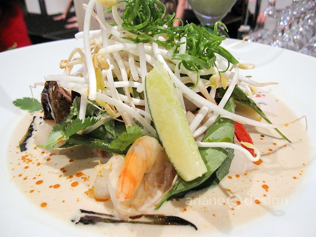River Rock Resort: Indonesian fish and seafood soup